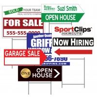 Real Estate Custom Yard Signs