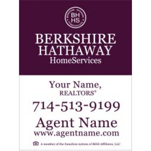 Berkshire Hathaway For Sale Sign 24 Quot X18 Quot
