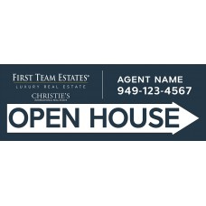 Open House Signs Real Estate Custom Cheap Directional A