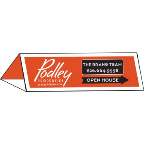 Open House Signs - Real Estate Custom Cheap Directional a Frame